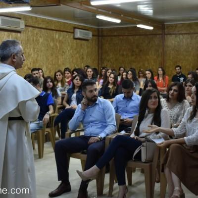 لقاء التنشئة لفريق العمل الرسولي حول التحديات الشبابية في