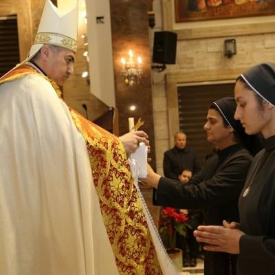 القداس الاحتفالي لختام السنة اليوبيلية لوفاة الاب عبد الاحد