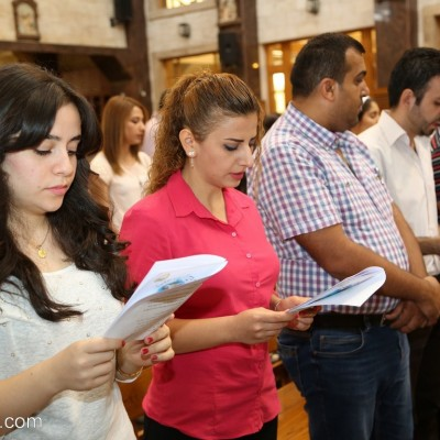القداس الألهي و رتبة تكريس معلمي التعليم المسيحي في
