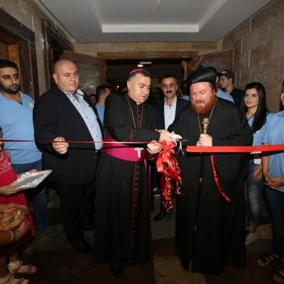 فعاليات مهرجان عيد الصليب 2016 - أفتتاح السوق الخيري