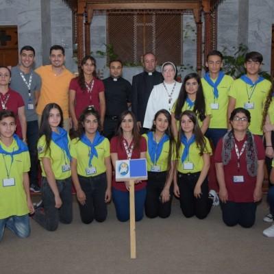 النشاطات الصيفية لطلاب التعليم المسيحي في خورنة شقلاوة 2016