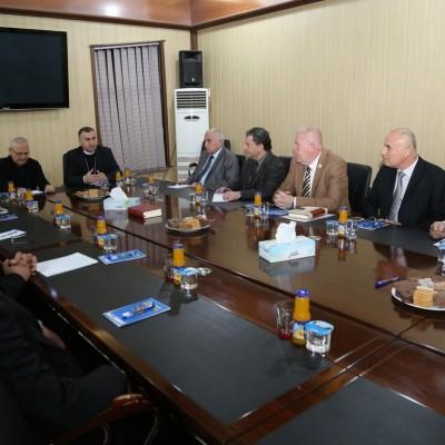 لقاء الفعاليات السياسية والمدنية الكلدانية في عنكاوا