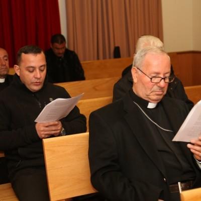 إجتماع مجلس الكهنة لشهر تشرين الثاني مع راعي الإيبارشية