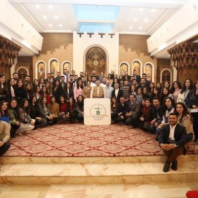 فريق العمل الرسولي يحتفل بالذكرى السابعة لتأسيسه