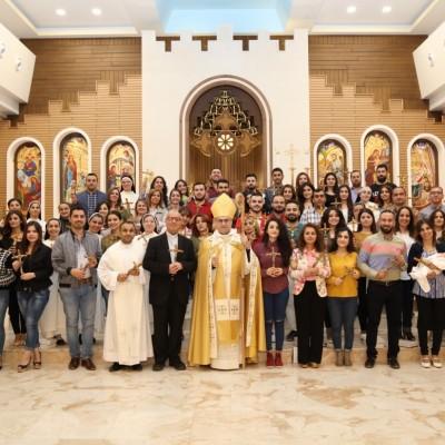 قداس تبريك كادر التعليم المسيحي في الإيبارشية